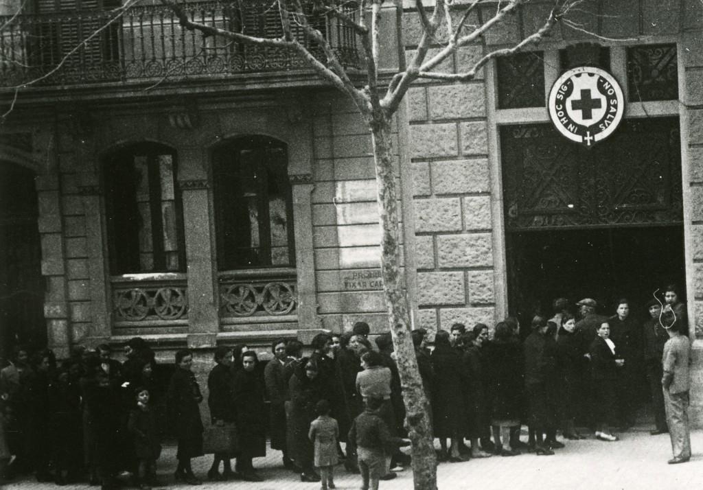 Spanish civil war, 1936-1939. Barcelona.