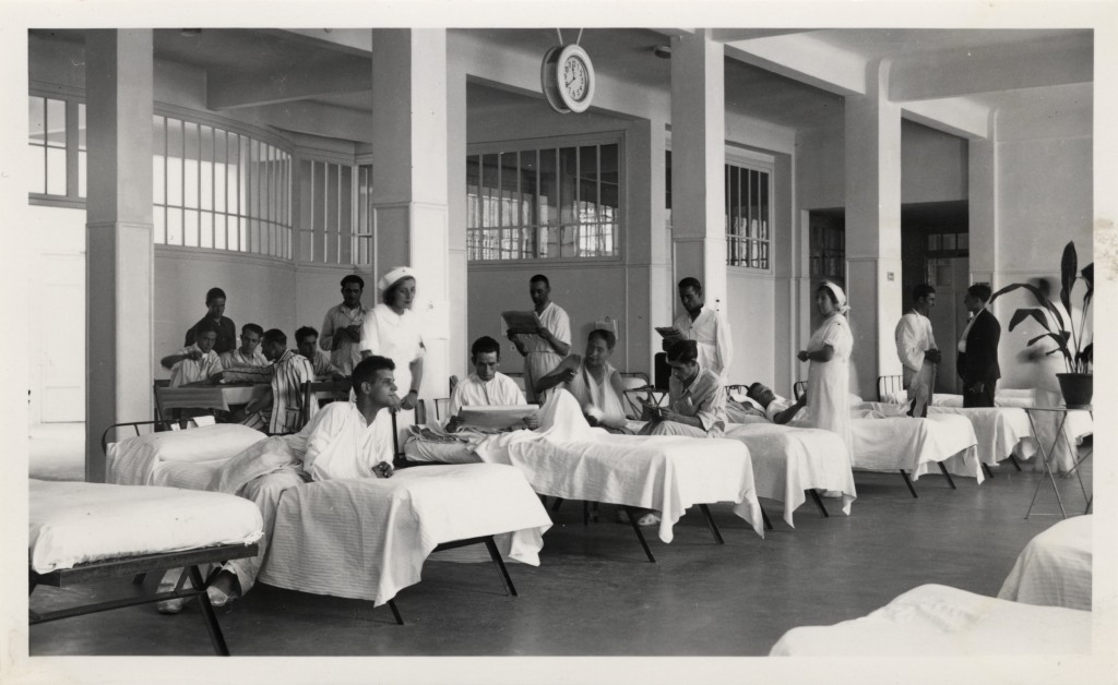 Spanish Civil War, 1936-1939. Madrid, Central Red Cross Hospital.
