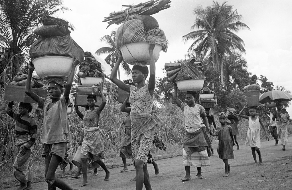 Biafra conflict. Ogaba region.